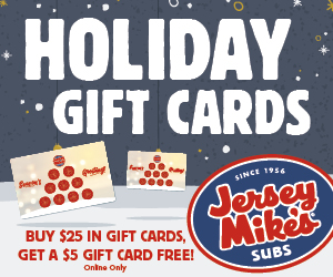Jersey Mike's - Gift Card