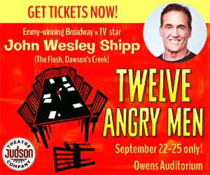 Judson Theater presents 12 Angry Men starring John Wesley Shipp