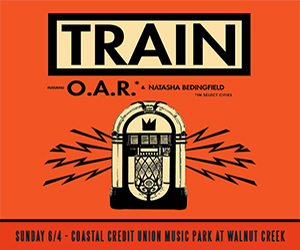 Train - coming to Raleigh June 4th