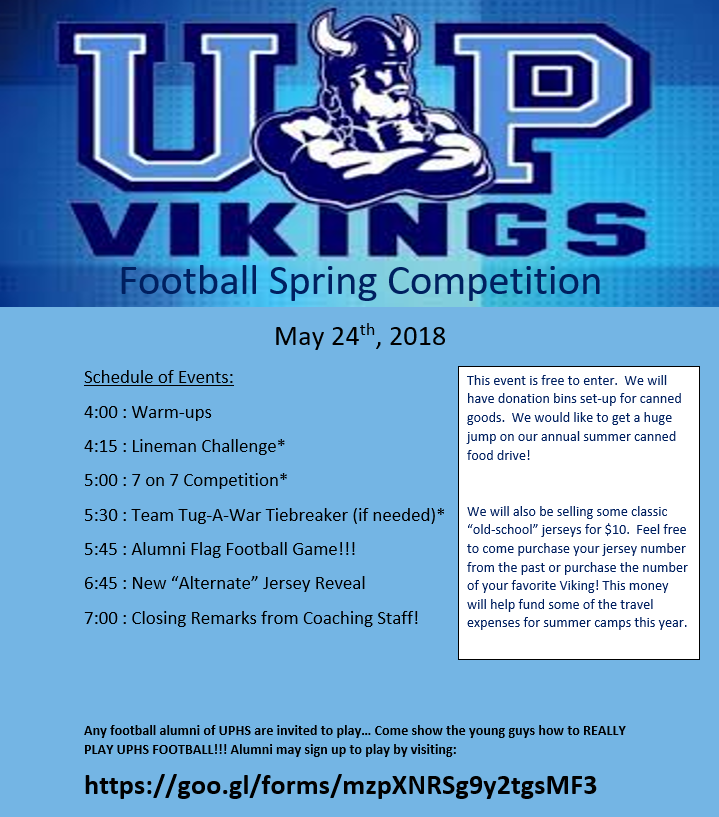 union pines SPRING FLYER