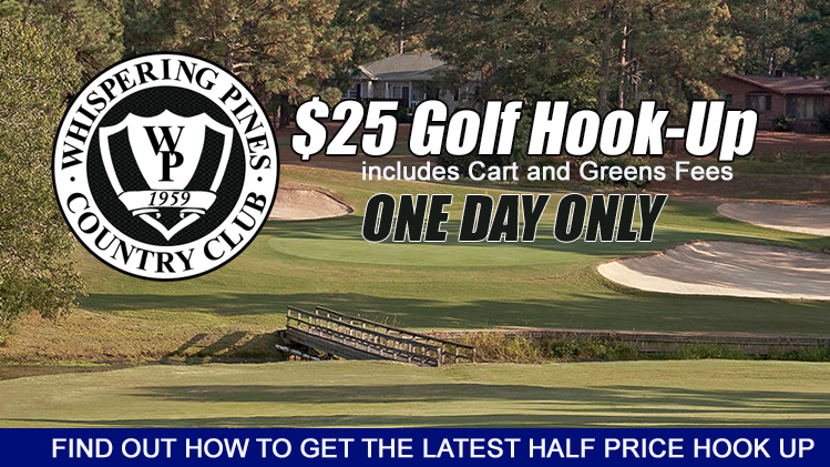 hookup golf whisperpines COMINGUP 2019 slide